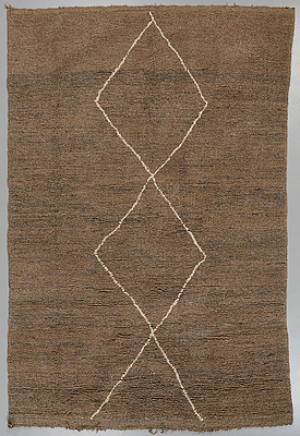 MATTA, Beni Ourain, 283 x 192 cm.
