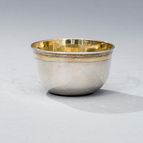 Supkopp och fat, silver, stockholm 1705, totalvikt 149 g