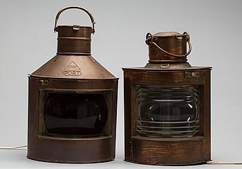 LANTERNOR, 2 st, 1900-talets första hälft.