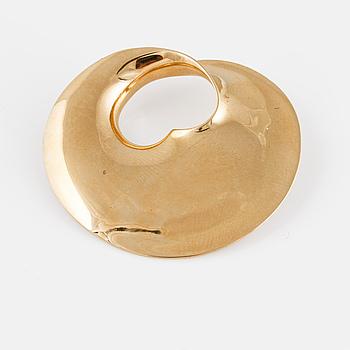 BROSCH, 18K guld, Torun Bülow Hübe för  Georg Jensen. Vikt 12,9 gram.