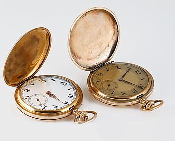 FICKUR, savonett, doublé, 2 st, ca 1900-talets första kvart.