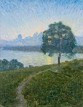 """891. EUGÈNE JANSSON, """"Mot solnedgången""""."""