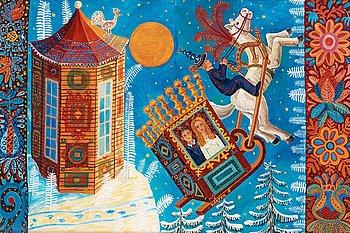 61. MÅRTEN ANDERSSON, Slädfärd -Jägaren och hans torn.
