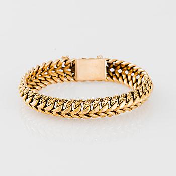 ARMKED, 18K guld. Vikt ca 24,8 g.
