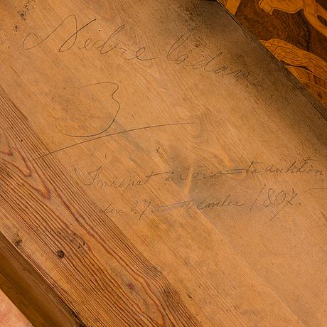 Gustaviansk byrÅ, sverige, sent 1700 tal