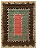 "Carpet. ""tusenskönan"" (""bellis""). knotted pile. 363,5 x 267 cm. signed ab mmf."