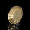 Kaffekopp, förgylld silver, helsingfors 1862, johan edvard fagerroos. vikt 214 g