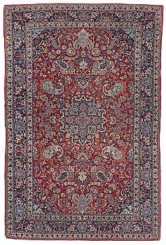809. RUG. Semi-antique Esfahan. 219,5 x 146,5 cm.