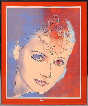 RUPERT JASEN SMITH, färgserigrafi, signerad och numrerad TP 37/40.