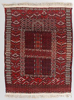 MATTA/ENSI, Ersari, Turkmensk, old, 152 x 120 cm.