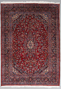 MATTA, old, keshan/Meshed, ca 299 x 205 cm.