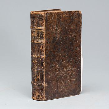 BOK, CARL VON LINNÉ (1707-1778), Skånska resa på höga öfverhetens befallning förrättad år 1749.