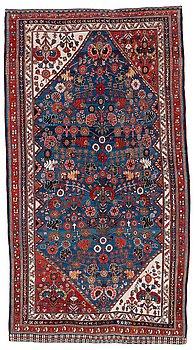 811. RUG. Antique Qashgai. 218,5 x 120,5 cm.