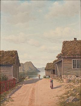 OSCAR KLEINEH, MOTIV FRÅN FISKEBY.