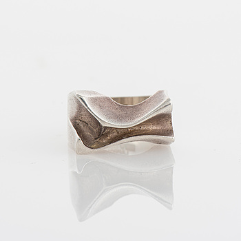 RING, Lapponia 1979, silver.