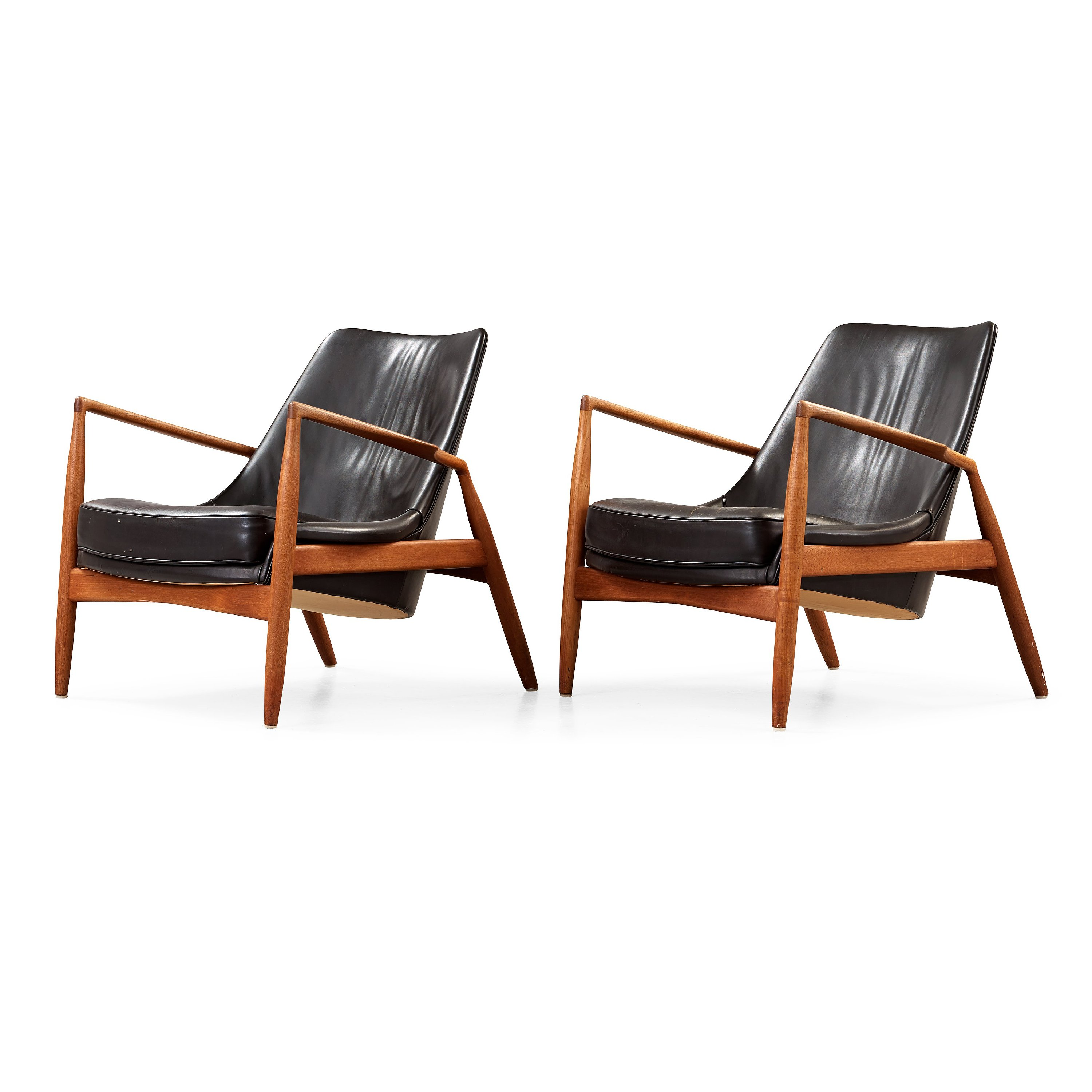 Ib Kofod Larsen A Pair Of Seal Armchairs Olof Persson Mobler