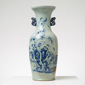 VAS, porslin. Sen Qing dynasti (1644-1911).