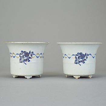 YTTERFODER, ett par, kompaniporslin, Kina, 1700-tal.