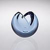 Nanny still, glasskulptur. melon. sign. nanny still, riihimäen lasi oy
