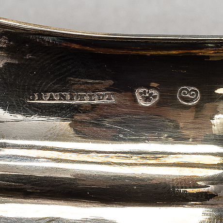 MjÖlkkanna, silver, granfelt, borgå 1810, vikt 148 g