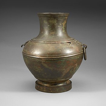 7. A large bronze vase, Ming dynasty or older.