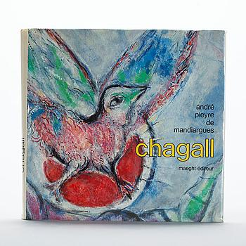 "BOK, Marc Chagall, ""De Mandiargues"", André Pieyre. Maeght 1975."