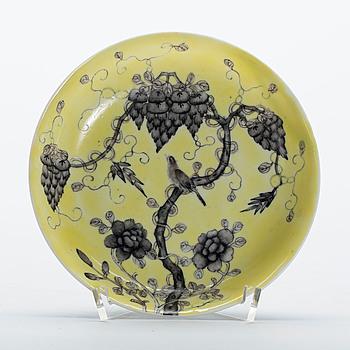 SKÅLFAT, porslin, Kina, Guangxu(1875-1908). Märkt undertill.
