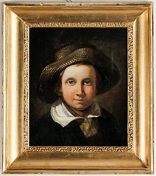 JOHAN CHRISTOFFER BOKLUND, olja på duk, signerad och daterad 1841.