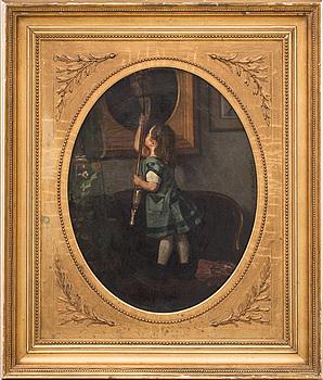 ROBERT BARNEKOW, olja på duk. Signerad och daterad 1886.
