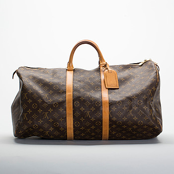 "VÄSKA, ""Keepall 55"", Louis Vuitton."