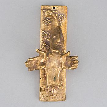 BROR MARKLUND, väggskulptur, brons, signerad, numrerad 11/60.