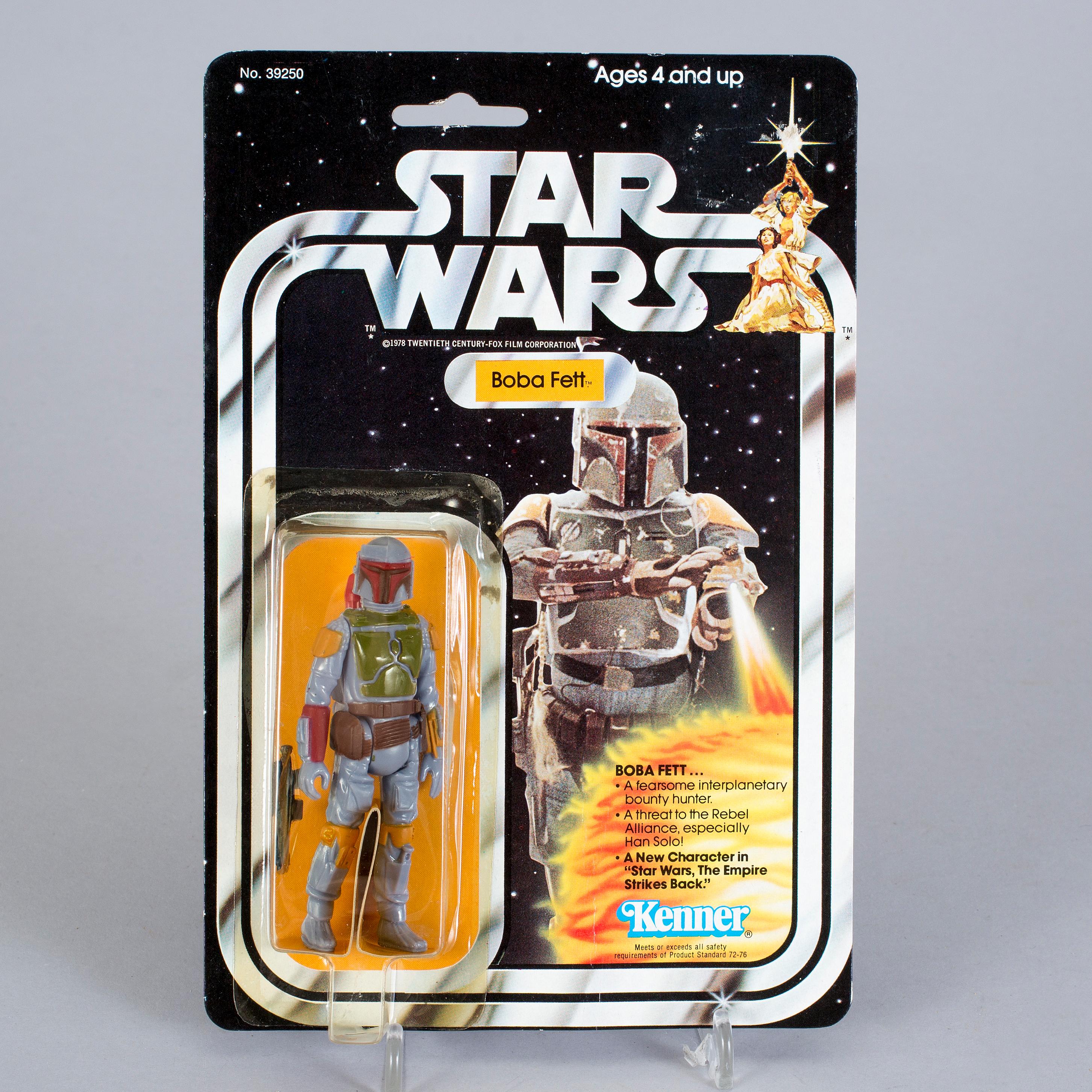 STAR WARS Boba Fett 21 Back B Kenner 1979