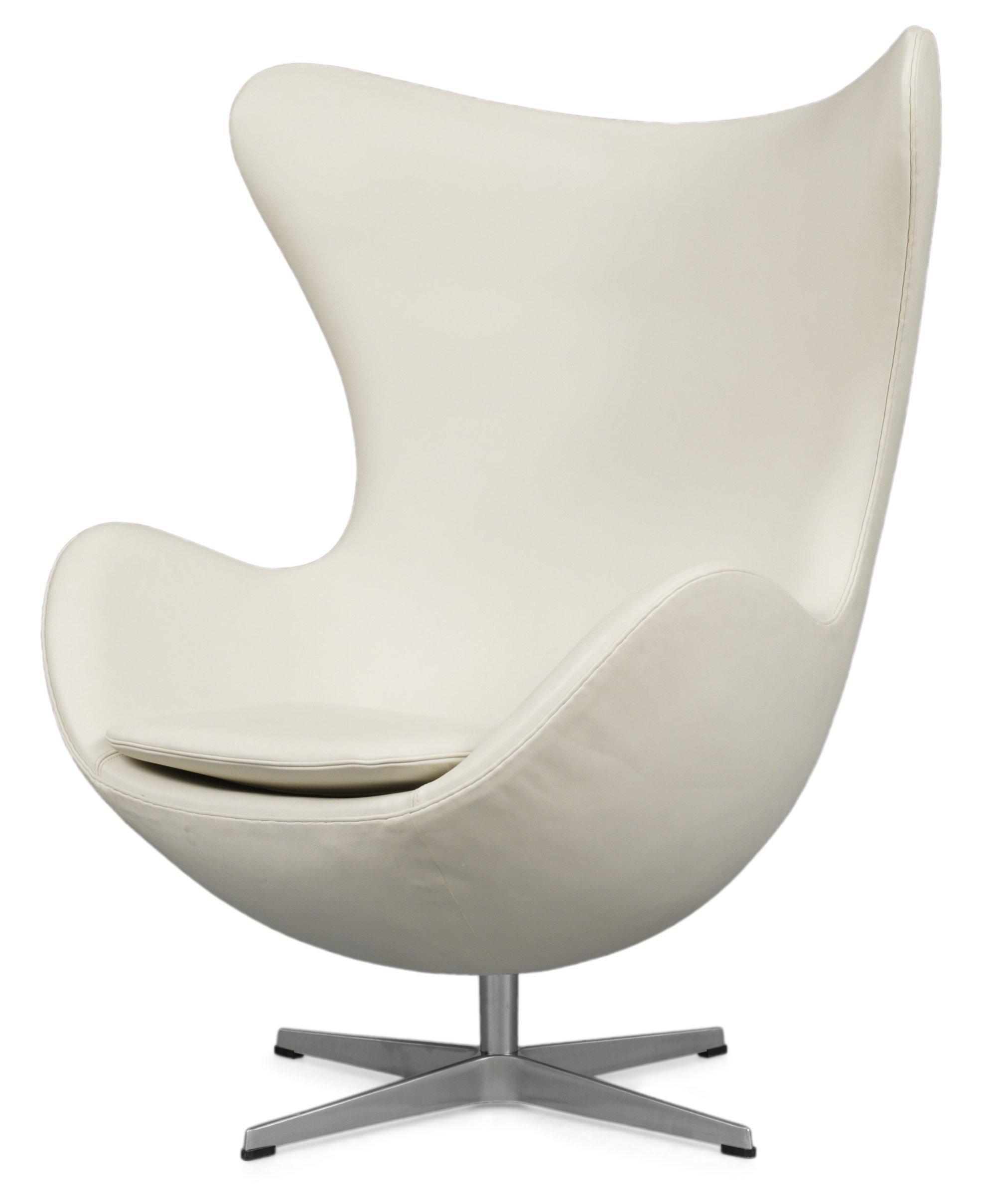 Arne jacobsen egg chair white - 1479073 Bukobject