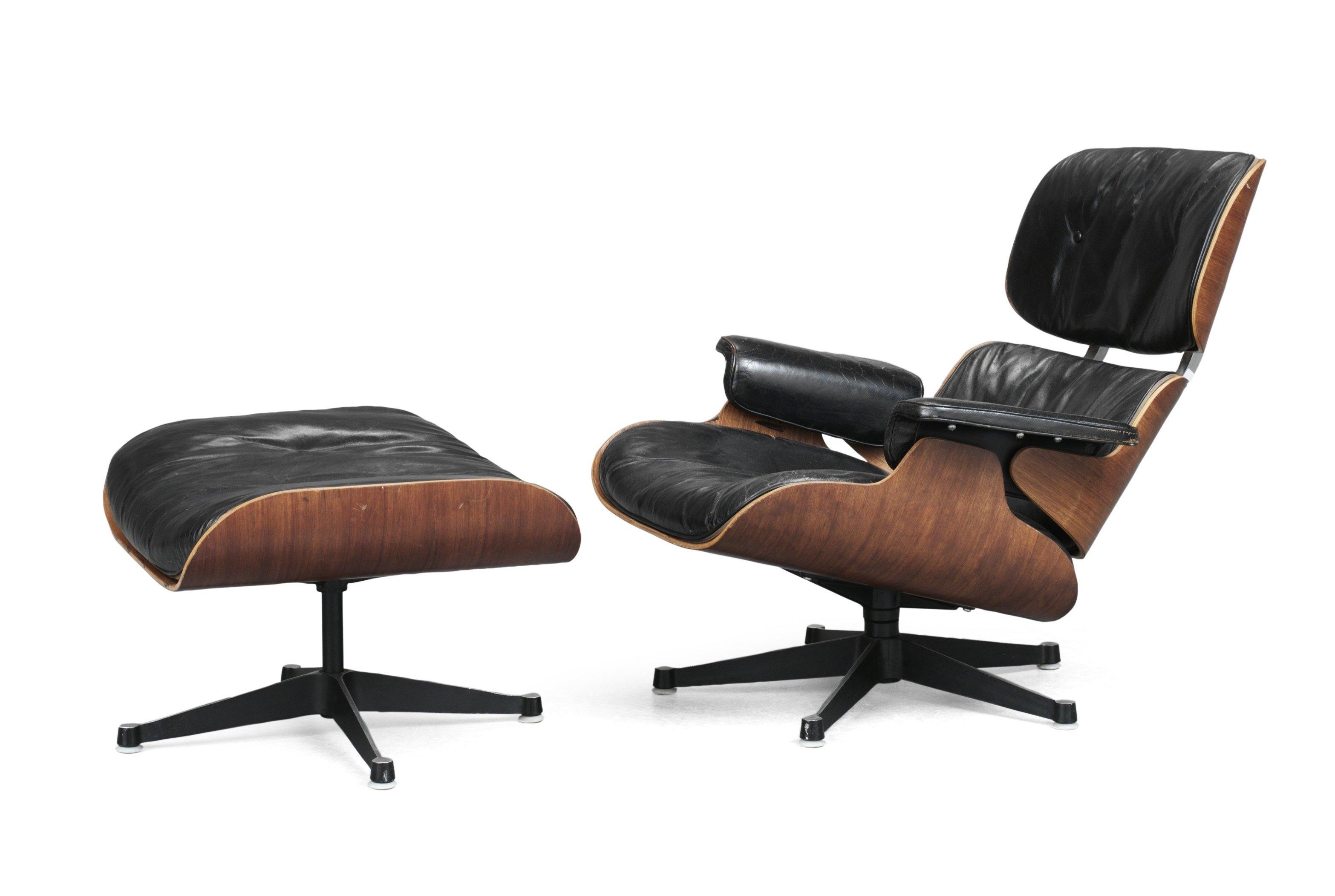 Eames Lounge Stoel : Eames lounge chair ottoman uncrate