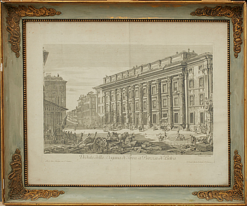 GIOVANNI BATTISTA PIRANESI, efter, etsning, 1800/1900-tal.