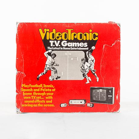 Tv spel, videotronic ii, alfa electronics, 1970 talets andra hälft