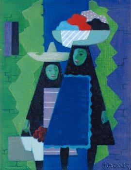 "13. Waldemar Lorentzon, ""Las Criadas""."
