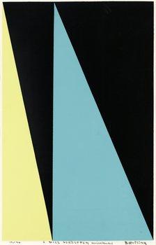 307. Olle Baertling, Untitled.