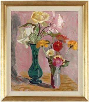 28. Isaac Grünewald, Blomsterstilleben.