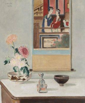 """35. Einar Jolin """"Interiör med kinesisk målning"""""""