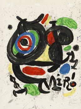 """372. Joan Miró, """"Affiche pour l'exposition Scupltures""""."""