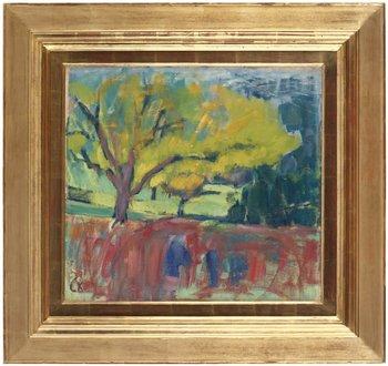 "7. Carl Kylberg, ""Fruktträd""."