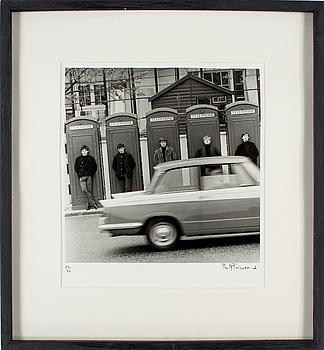 """PHILIP TOWNSEND, gelatinsilverfotografi """"Rolling Stones"""", signerad Philip Townsend och numrerad 24/50."""