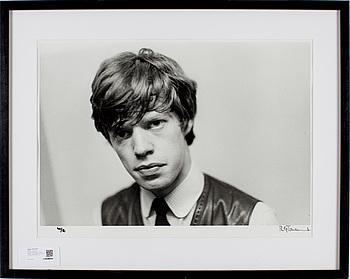 """PHILIP TOWNSEND, gelatinsilverfotografi """"Rolling Stones"""", signerad Philip Townsend och numrerad 40/50."""