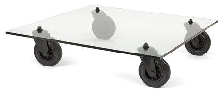Gae aulenti soffbord tavolo con ruote fontana arte - Tavolo con ruote gae aulenti ...