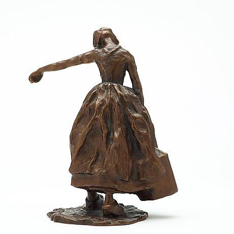 """Carl milles, """"vattenbärerska"""" (girl with waterbucket)."""