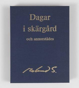 """105. ROLAND SVENSSON, """"Dagar i skärgård och annorstädes"""""""