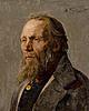 Vladimir makovski, portrait of an old man