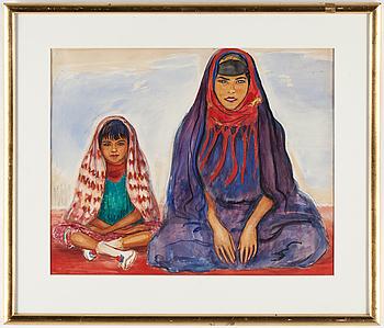 NILS VON DARDEL, NILS VON DARDEL, akvarell, utförd 1936.