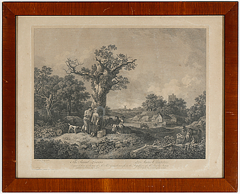 KOPPARSTICK, FRANCIS VIVARES, 1760.
